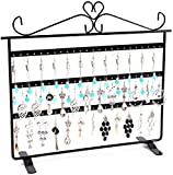 Lawei 2 Pack Earring Holder Stand - 3 Layer Jewelry Organizer Stand Earring Display Stand Earring Holder for Hanging Earring