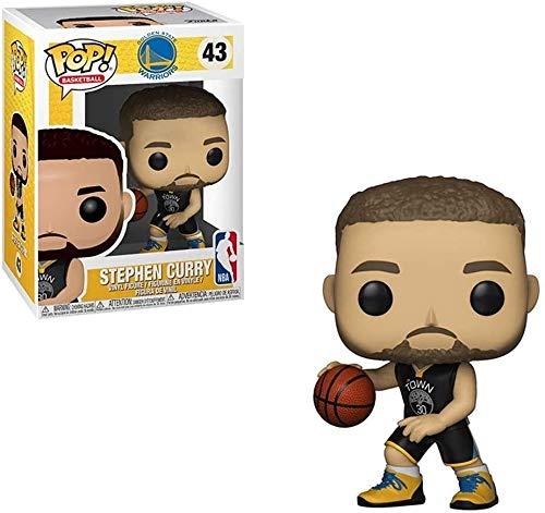 WSWJ Golden State Warriors - Stephen Curry de colección de Vinilo Figura 10cm