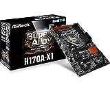ASRock Motherboard ATX DDR4 LGA 1151 Motherboards H170A-X1