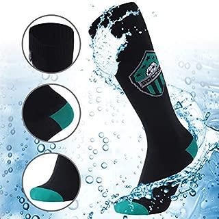 100% Waterproof Hiking Socks, [SGS Certified] RANDY SUN Unisex Knee Length Breathable Skiing Trekking Sock 1 Pair