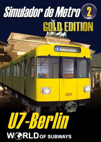 Simulador de conductor del Metro de Berlin, en Español