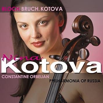 Bloch, E.: Prayer / Schelomo / Kotova, N.: Cello Concerto / Bruch, M.: Kol Nidrei