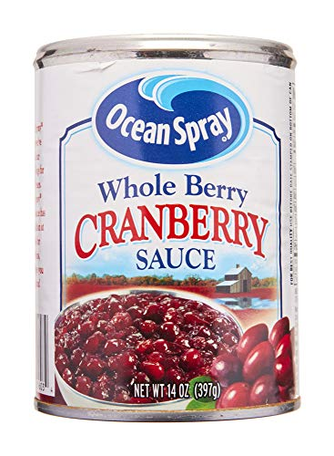 Ocean Spray Cranberry Sauce, Whole Berry, 14 oz