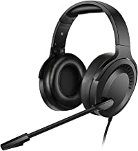 NUBWO N15 Gaming Headset for Xbox One PS4 PC with Flexible Mic Comfort Rotatable Earmuffs, Stereo Sound, Easy Volume Control for Xbox One S/X Playstation 4 Computer Laptop (Black)