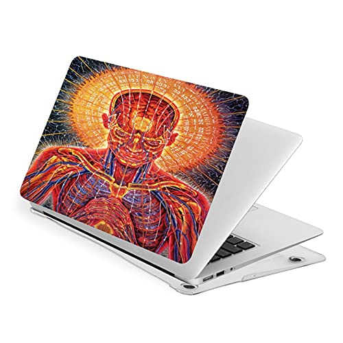 To_Ol Poster Ba_Nd - Carcasa para MacBook Air 13, compatible con MacBook Apple Laptop Electric Skull Smooth Protective Laptop Cover Air13
