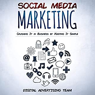 Social Media Marketing: Crushing it in Business by Keeping it Simple     Discover the Minimalism Marketing Secrets to Become an Influencer in 2019. Facebook, Instagram, Linkedin, Twitter, and Youtube              By:                                                                                                                                 Digital Advertising Team                               Narrated by:                                                                                                                                 John Patrick Henry                      Length: 3 hrs and 3 mins     Not rated yet     Overall 0.0