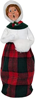 Byers' Choice Bailey Woman w/Muff Caroler Figurine #1182W from The Caroling Families Collection