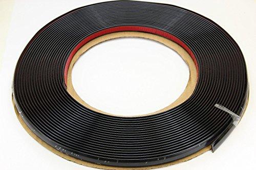 SCHWARZE Zierleiste 10mm 15m selbstklebend universal Auto Kontur Leiste schwarz