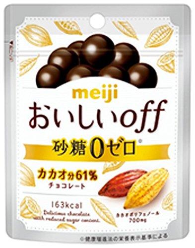 明治 おいしいoff砂糖ゼロ 33g×10袋