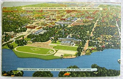ASBURY PARK DEAL LAKE N.J. 1941 VINTAGE POSTCARD