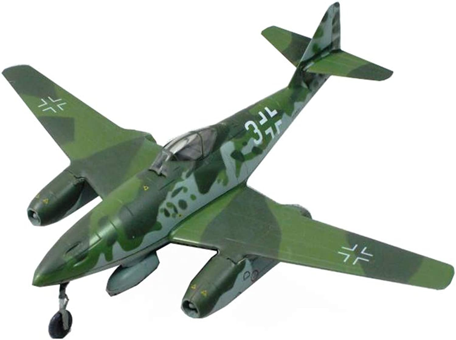 Aircraft Model, World War Ii Weapon  German Me262  Jet Fighter Finished Product Simulation Model, Retro Military Decoration NonSouvenir Souvenir