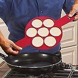 Küchen Crêpière Form für Silikonformen Mat Nonstick Kochen Werkzeug Eierkocher Pan Flip...