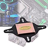 Nunafey Waterblock Water Cooling Block 40MM Base de Cobre Universal para PC GPU para computadora