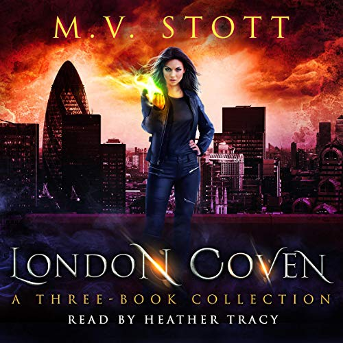 London Coven audiobook cover art