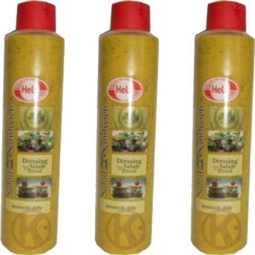 Hela Gewürz-Sauce Mosterd-Dille 3 x 800ml (Senf und Dill)