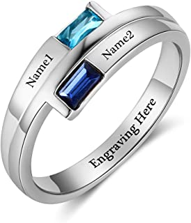 Best engagement rings name engraved Reviews