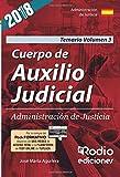 Cuerpo de Auxilio Judicial. Administración de Justicia.  Temario. Volumen 3