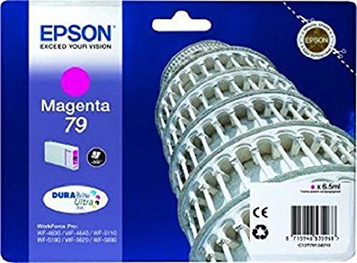 Epson C13T79134010 - Cartucho de tinta, color magenta, Ya disponible en Amazon Dash Replenishment