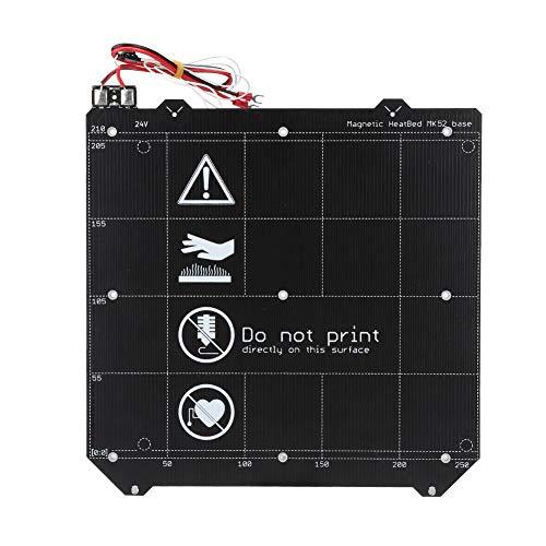 加熱ベッドサーキットボード Prusa i3 MK3S MK2.5用 磁気ホットベッド+ 3Dプリンター用 構造化層弾性鋼板加熱アクセサリ
