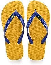 Havaianas Brasil, Unisex-Adults Flip Flops, BANANA YELLOW, 11/12 UK (47/48 EU)