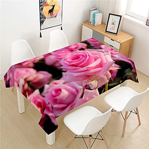 XXDD Mantel de Diente de león de poliéster Mesa de Picnic de Hotel Mantel Rectangular Mesa de Comedor para el hogar Mesa de Centro decoración A3 140x200cm