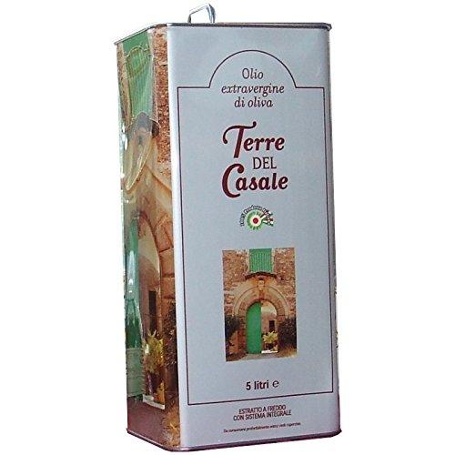 Aceite Oliva Virgen Extra 5 Lt - Terre del Casale - - Oferta 3 Piezas