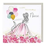 Whistlefish Greeting Card - Happy Birthday Niece