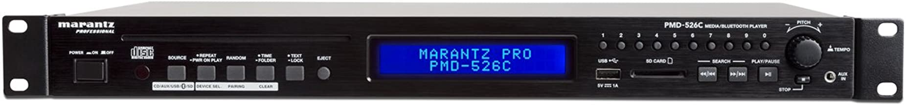 Marantz Professional PMD-526C | CD/Media/Bluetooth Player with RS-232 Control