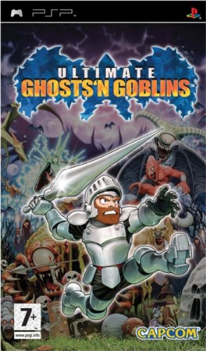 Capcom Ultimate Ghosts'n Goblins, PSP - Juego (PSP, PlayStation Portable)