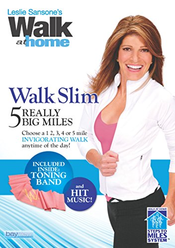Leslie Sansone: Walk Slim - 5 Really Big Miles with Free Toning Band