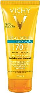 Ideal Soleil Soft FPS70 200ml, Vichy, Branco