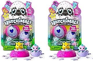 Hatchimals - Season 1 - CollEGGtibles 2-Pack + Nest - Set of 2 Packs