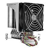 Ventola di raffreddamento CPU, 3800 RPM Ventola di raffreddamento CPU a basso rumore 4Pin ...
