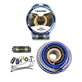 Blaupunkt AMK00 Car Audio Amplifier 0 Gauge Wiring Kit Blue