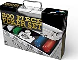 Cardinal Games 200 pc Poker Set In Aluminum Case, multi color...