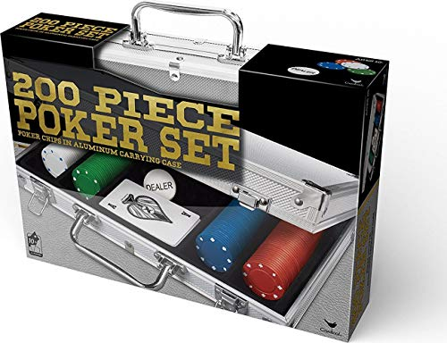 Spin Master Games 200 pc Poker Set in Aluminum Case (Styles Will...