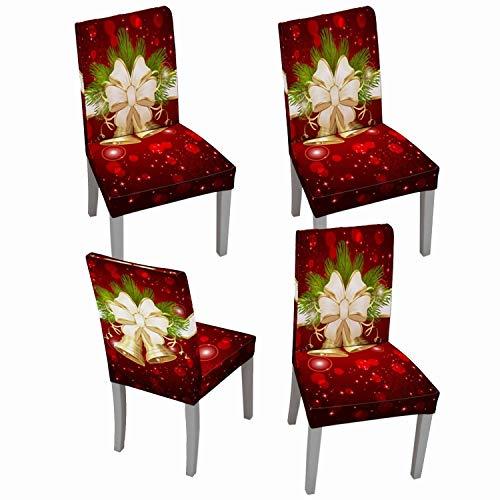 fundas para sillas de comedor navideñas fabricante Muuyi