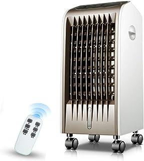 Móviles Evaporativos Ventiladores Refrigeración Del Hogar Aire Acondicionado Ventilador Remoto 4H Sincronización 3 Velocidades Modo 3-Viento Depósito De Agua 4L Purificación Y Humidificación Ventilado