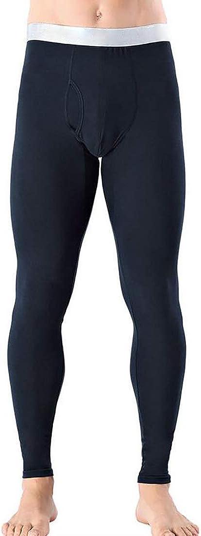 Fulision Men's Long Johns Thermal Mens Underwear Mens Warm Lined Long Leggings