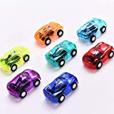 1 Unidades Mini Car Cartoon Car Kid Boy Fiesta de cumpleaños Toy Boy Funny Baby Kid Modelo Educativo Regalo de Juguete de plástico Color Aleatorio
