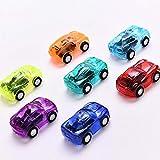 1 Unidades Mini Car Cartoon Car Kid Boy Fiesta de cumpleaños Toy Boy Funny Baby Kid Modelo Educativo Regalo de Juguete de plástico Color Aleatorio