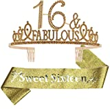Sweet 16 Gifts for Girls, Sweet 16 Birthday Decorations,...