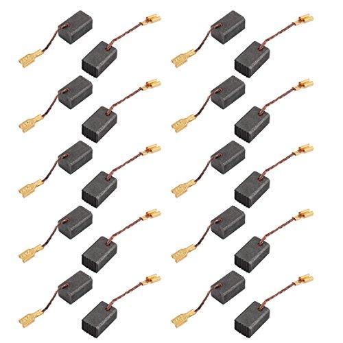 Aexit 20 Stücke 13mm x 8mm x 6,3mm Kohlebürsten Elektrowerkzeug für Bohrhammer Motor (6b9bc2102f78cc64afc130bba713affd)