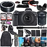 Canon EOS RP Mirrorless Digital Camera with EF 24-105mm f/3.5-5.6 is STM Lens and Mount Adapter EF-EOS R Bundled + Deluxe Accessories