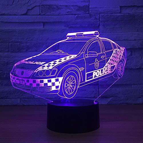Lampada da tavolo illusione auto lampada umore tocco telecomando colore famiglia lampada decorazione festa festa gocciolamento regalo bambino
