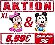 Baby Minnie   Mickey Mouse XL Ballon Folienballon