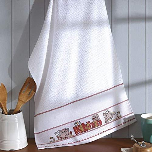 Pano de Prato Avulso Dohler -Felpudo p/Bordar Vigo Kitchen