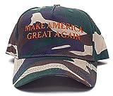 Make America Great Again Embroidered Donald Trump 2016 Unisex Adult Hat Cap Camo