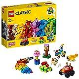 LEGO 11002 Classic Ensemble de Briques de Base Jeu de Construction Educatif Activité Manuelle pour Enfants de 4 Ans et +