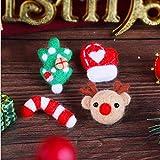 LEMESO Fai da Te Bambini Natale Regalo Feltro di Lana Kit Infeltrimento Giocattoli Compleanno Peluche Lavori Manuali Artigianali Art con Ago Needle Creazione